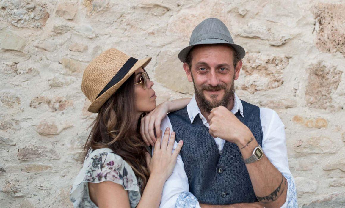 Rachel Llort y Sergio Mancebo