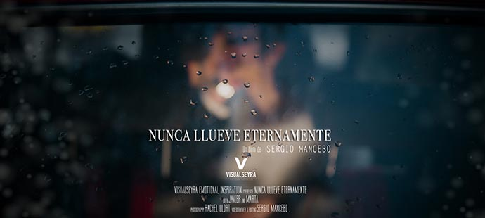 Video de boda- Nunca llueve eternamente